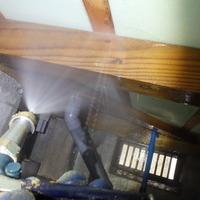 周南市蓮ヶ浴にてベタ基礎の住宅の白蟻予防工事。のサムネイル