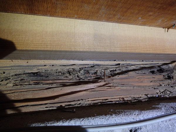 防府市台道にて、以前イエシロアリの被害に合われたお宅の予防。のサムネイル