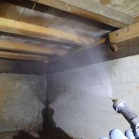 防府市迫戸の借家のヤマトシロアリ駆除工事。のサムネイル