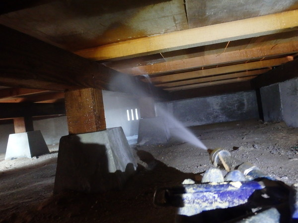 熊毛郡平生町にて中古住宅予防工事。のサムネイル