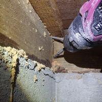 防府市泉町にて白蟻駆除、予防工事。のサムネイル