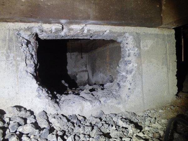 防府市華浦にてヤマトシロアリ駆除工事。のサムネイル