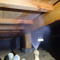 山口市秋穂二島にて白蟻予防工事。のサムネイル