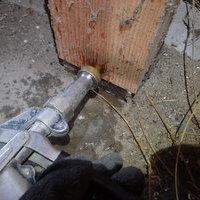 防府市田島にて倉庫の白蟻駆除工事。のサムネイル