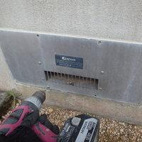 山口市陶にて床下換気扇取換工事。のサムネイル