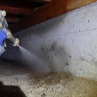 防府市江泊にて定期的に白蟻予防工事。のサムネイル