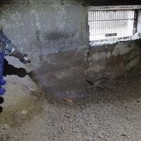 宇部市厚南にてアパートの白蟻予防工事。のサムネイル