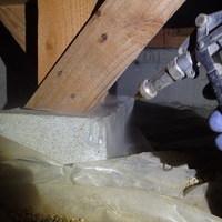防府市高井にて白蟻予防工事。増築部は新築予防以来初めての処置。のサムネイル