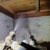 防府市牟礼上坂本にて白蟻予防工事。築36年、今までずっと定期的に。のサムネイル