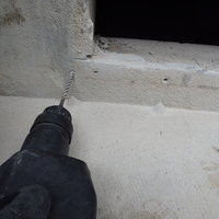 山口市吉田にて、古くなった床下換気扇の交換工事。のサムネイル