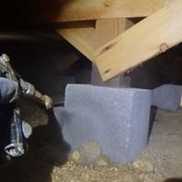 山口市嘉川にて白蟻予防工事。定期的な予防で一度も被害なし。のサムネイル