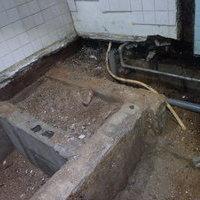 お風呂場・脱衣所のリフォーム時に白蟻予防工事。過去の被害がよくわかります。のサムネイル