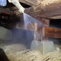 光市島田にて白蟻予防工事。のサムネイル
