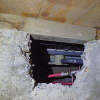 防府市西仁井令にて白蟻予防工事。のサムネイル