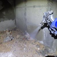 山口市佐山にて白蟻予防工事。リフォームに合わせて的確に。のサムネイル