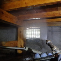 防府市自由ヶ丘にて白蟻予防工事。のサムネイル