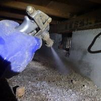 防府市田島にてご新規ご契約。白蟻予防工事。のサムネイル