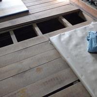防府市松崎にて白蟻予防工事。駆除工事から5年後の今回。のサムネイル