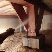 宇部市ひらき台にて白蟻予防工事。のサムネイル
