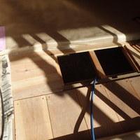 下松市河内青葉台にて白蟻予防工事。のサムネイル