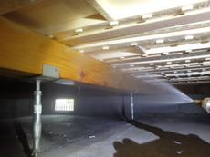 周南市栄町にてリフォーム物件の白蟻駆除・予防工事。