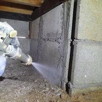 山口市嘉川にて白蟻予防校工事。庭木の剪定職人さんからのご紹介。のサムネイル
