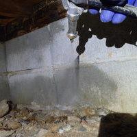 山口市秋穂東にて、ご自宅の横に隣接する旧宅の白蟻予防工事。のサムネイル