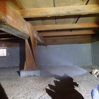 防府市桑山にて白蟻予防工事。のサムネイル