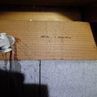 山陽小野田市にてカンモンシロアリの被害。数日お時間をいただき防除工事。のサムネイル
