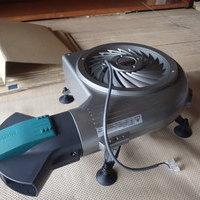 山口市朝田にて床下換気扇工事。広いお宅に無駄なく十分に効果が出るように。のサムネイル