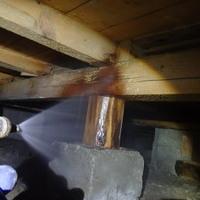 防府市高井にて白蟻予防工事。イエシロアリ飛来からの検査、施工という流れ。のサムネイル