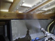 宇部市西岐波吉田にてアパートの白蟻予防工事。ご入居前に万全の状態を。
