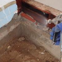 防府市本橋町にて白蟻予防工事。中古住宅のリフォームにあわせて。のサムネイル