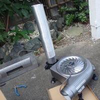 下関市羽山町にて床下換気扇工事。古い機械の故障からお問い合わせいただきました。のサムネイル