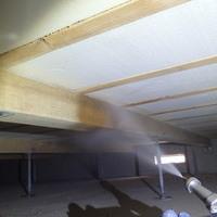 防府市岩畠にて白蟻予防工事。新築後初めての予防工事。のサムネイル