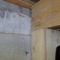 下関市羽山町にてヤマトシロアリ駆除工事。先日換気扇工事もさせていただきました。のサムネイル