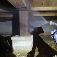 防府市高倉にて白蟻予防工事。のサムネイル
