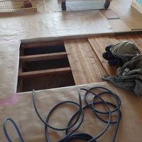 柳井市新庄にて白蟻予防工事。のサムネイル
