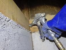 宇部市草江にて白蟻予防工事。リフォーム後にきちんと全体予防。