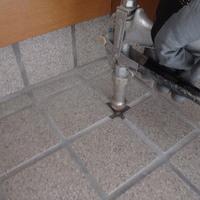 防府市新田にて白蟻予防工事。鉄筋コンクリート造のお住まいですが予防が必要です。のサムネイル