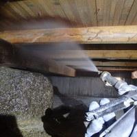 防府市江泊にて白蟻予防工事。以前施工させていただいたお客様のご実家。のサムネイル