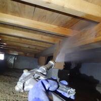 防府市新田にて白蟻予防工事。以前からリピートいただいているお客様宅です。のサムネイル