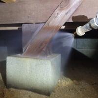 山口市鋳銭司にてリフォーム物件の白蟻予防工事。のサムネイル