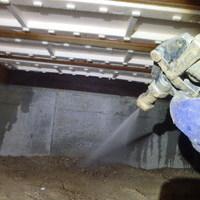 防府市新田にて白蟻予防工事。以前ご利用されていた他社様から弊社へ変更されてのお取引き。のサムネイル