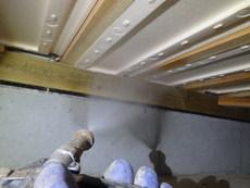 防府市迫戸にて、白蟻予防工事。20年以上前からのお付き合い。