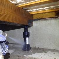 山口市佐山にて白蟻予防工事。佐山ハビテーション、定期的な予防工事。のサムネイル
