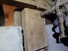 美祢市秋芳町にてヤマトシロアリ駆除工事。ホームページからのお問い合わせ。