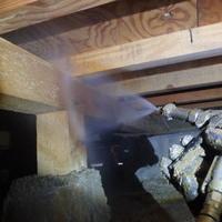 防府市泉町にて白蟻予防工事。のサムネイル