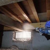 山口市平井にて中古住宅の白蟻予防工事。のサムネイル