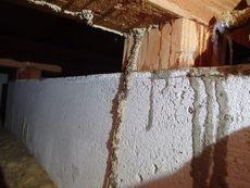 山陽小野田市須恵にてヤマトシロアリ駆除工事。羽蟻発見からの被害発覚。